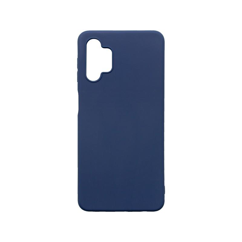 Samsung Galaxy A32 5G Szilikon hátlapvédő telefontok, Kék Matt