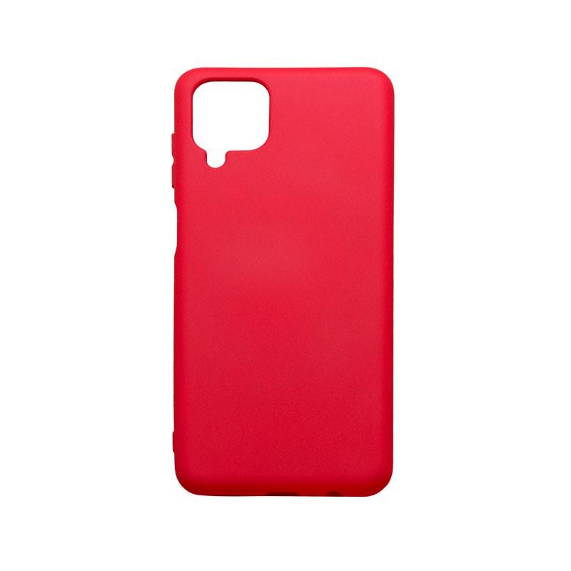 Samsung Galaxy A12 Tapadásmentes hátlapvédő tok, Piros