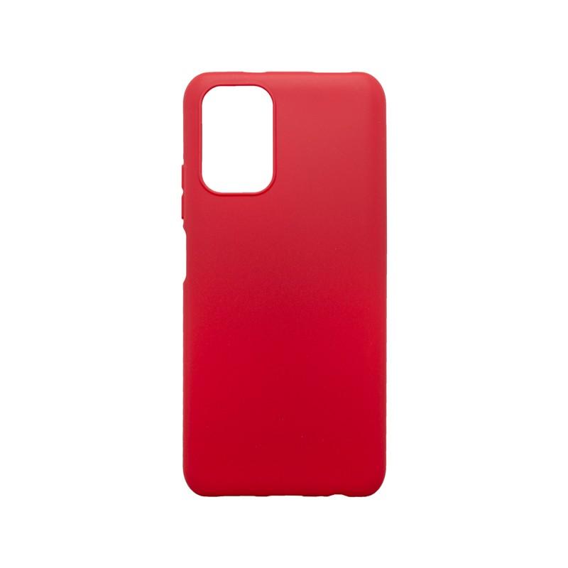 mobilNET Tapadásmentes hátlapvédő tok piros Xiaomi Redmi Note 10 Pro, Pudding
