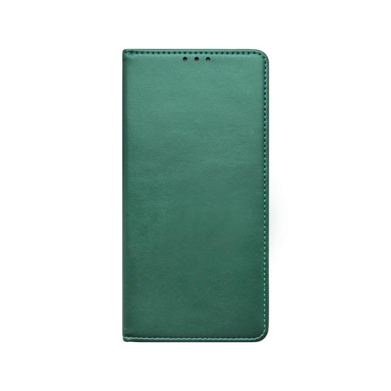 LG K52 Mappa mobiltok, sötétzöld, Smart
