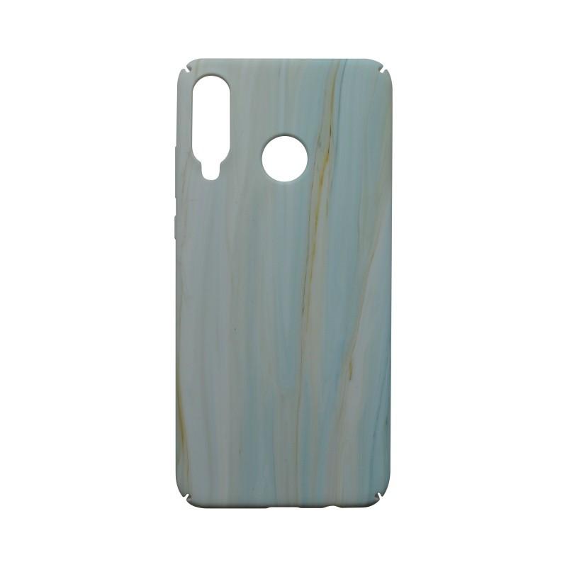 Műanyag hátlapvédő tok Creative Huawei P30 Lite világos kék