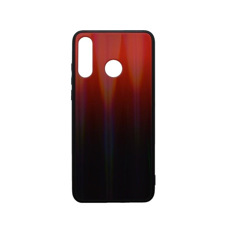 Műanyag hátlapvédő tok Gradient Huawei P30 Lite piros