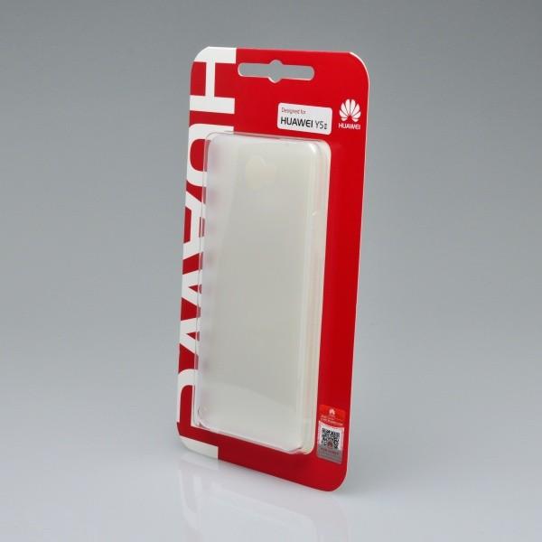 Műanyag hátlapvédő tok Huawei Y5 II átlátszós