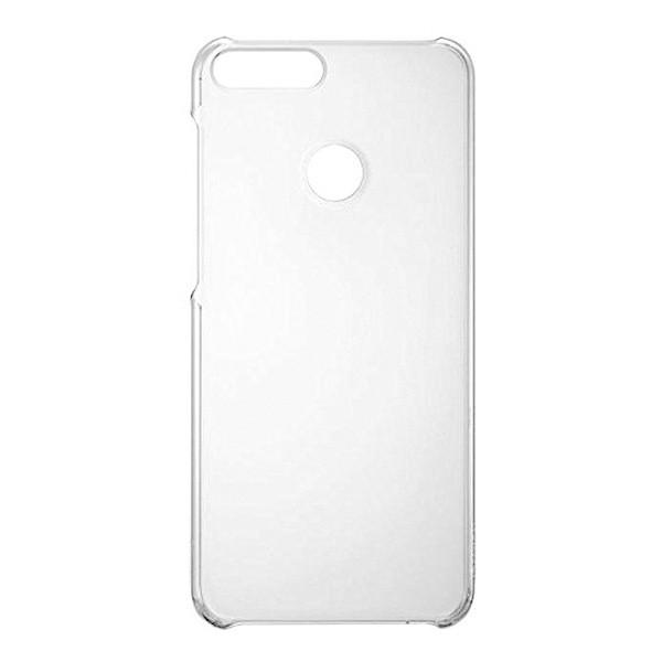 Műanyag hátlapvédő tok Huawei P Smart átlátszós