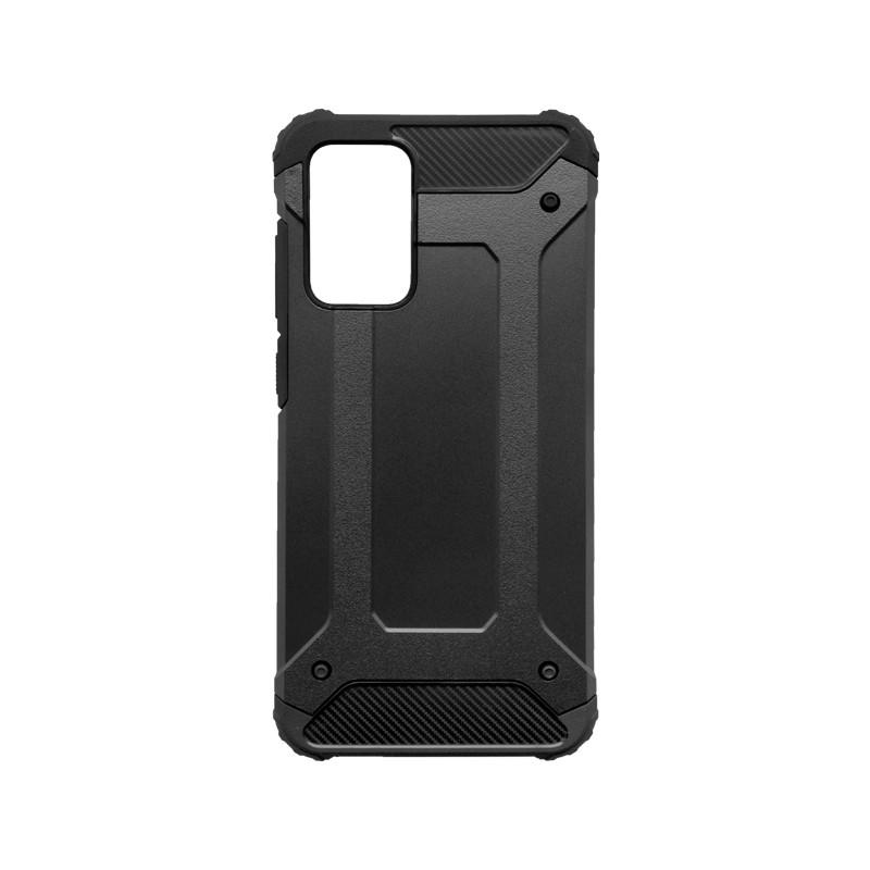Samsung Galaxy A72 Kemény hátlapvédő tok, fekete Military