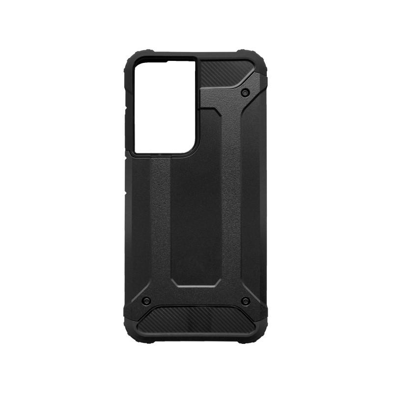 Samsung Galaxy S21 Ultra Kemény hátlapvédő tok, fekete Military