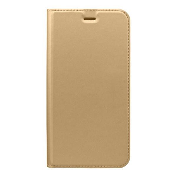Flip telefontok Metacase Huawei P20 Lite arany