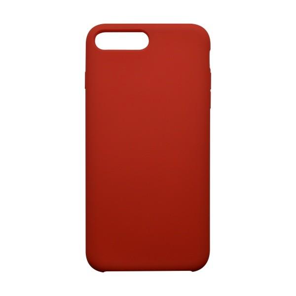 Hátlapvédő tok Silicon iPhone 8 Plus (7 Plus) piros