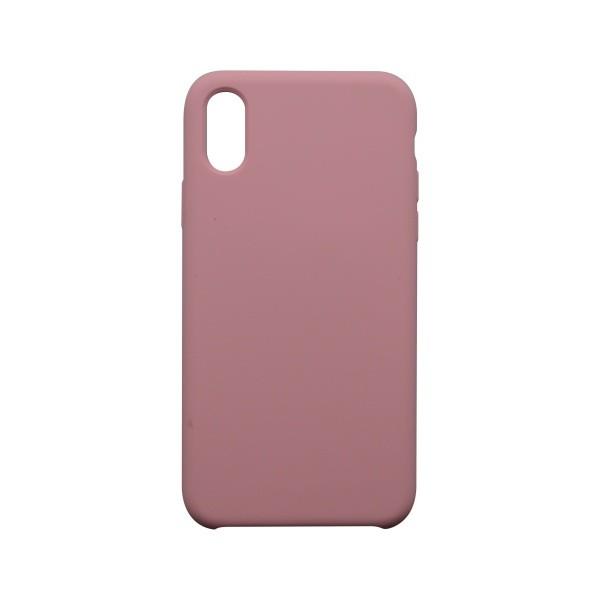 Hátlapvédő tok Silicon iPhone X rózsaszín