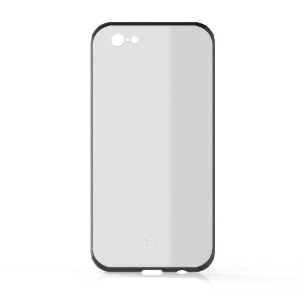 Üveg hátlapvédő tok Original iPhone 8 (7) fehér