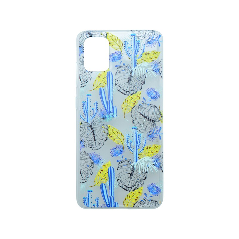 Szilikon hátlapvédő tok Spring III Samsung Galaxy A51