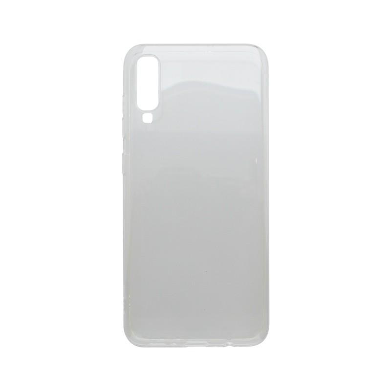 Tapadásmentes szilikon tok Samsung Galaxy A70 átlátszós
