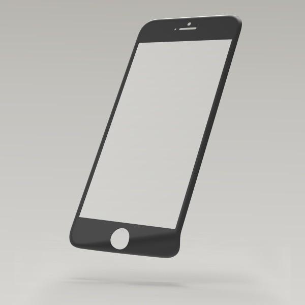 Üveg-védőfólia 3D Fiber Glass Sturdo iPhone 6S, fekete