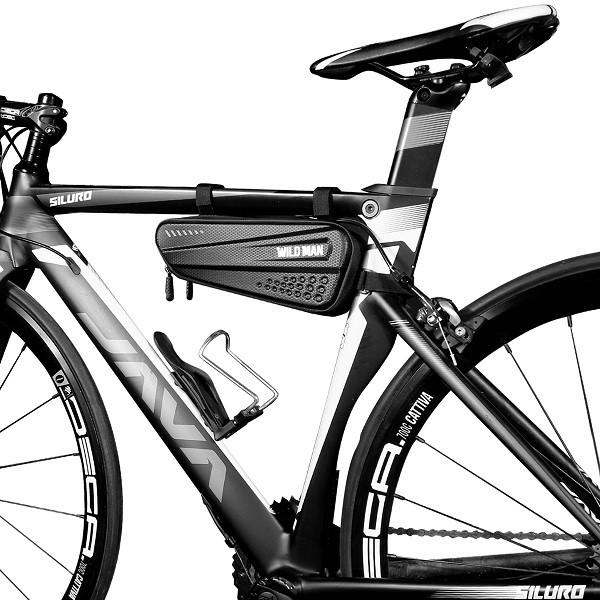 Wildman méret M ES4, Kerékpár tartó / tok, fekete