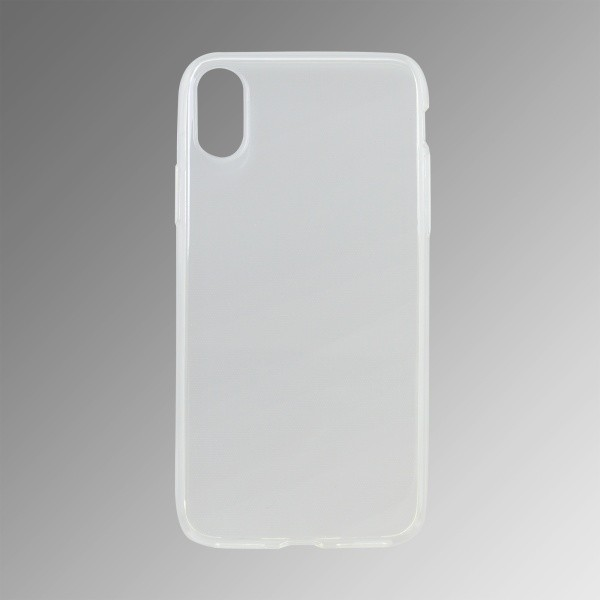 Tapadásmentes szilikon mobiltok  Apple iPhone X, átlátszós