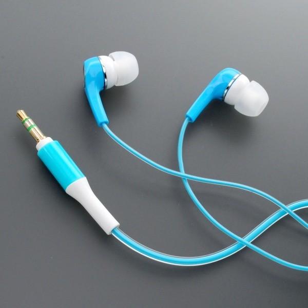 mobilNET fejhallgató 3.5mm jack, kék