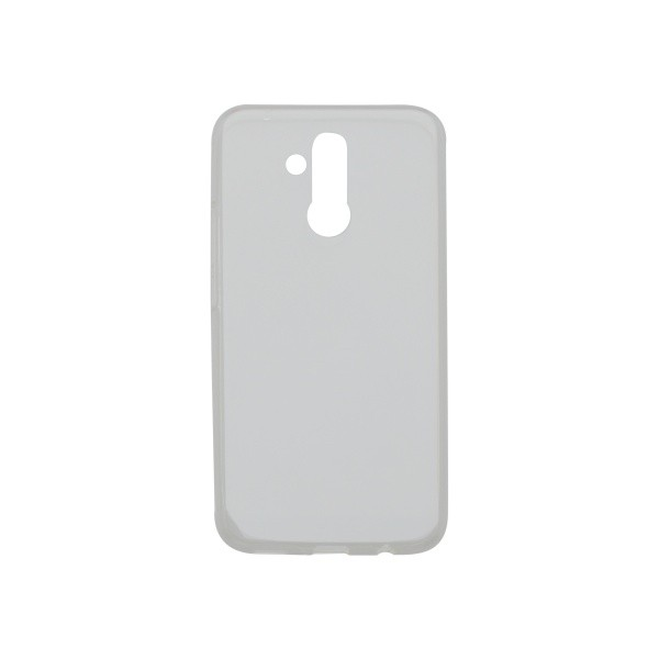 Silicone Non-Sticky Cover Case Huawei Mate 20 Lite Transparent