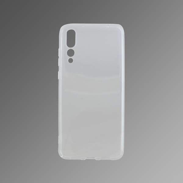 Silicone Non-Sticky Cover Case Huawei P20 Pro Transparent