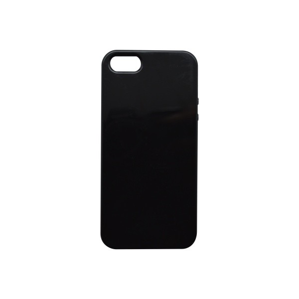 Silicone Cover Case iPhone 5 Glossy Black