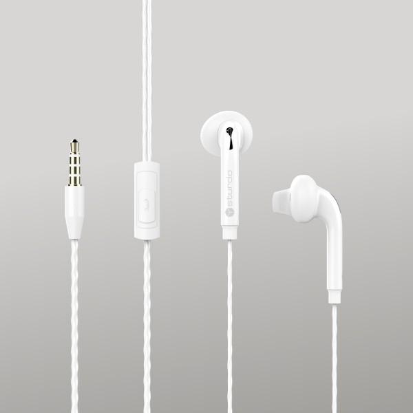 In-Ear Headset Sturdo, White