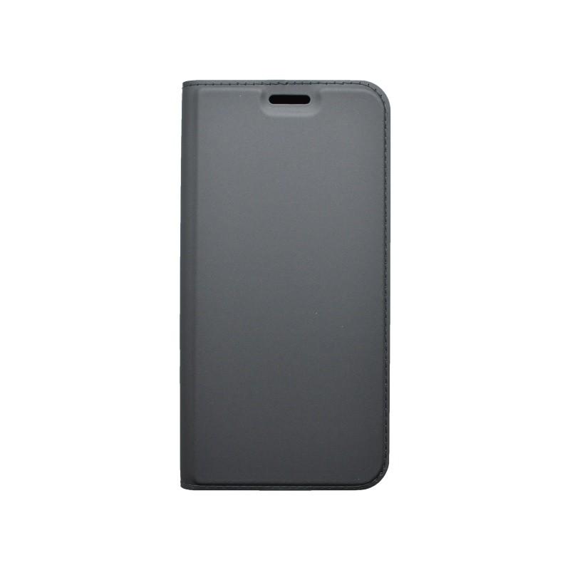 Wallet Case Metacase Huawei P20 Lite Black
