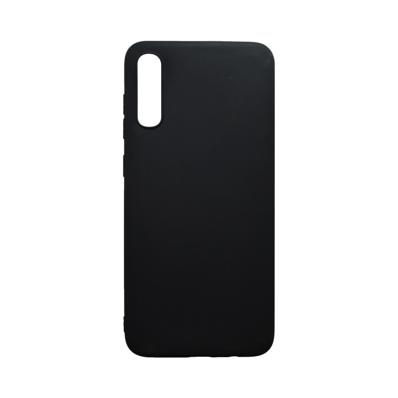 Silicone Cover Case Samsung Galaxy A70 Matte Black