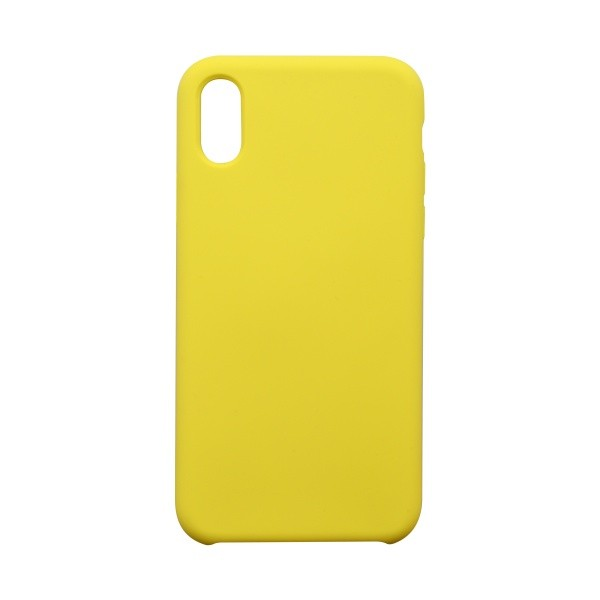 Protective Cover Case Silicon iPhone XS Yellow
