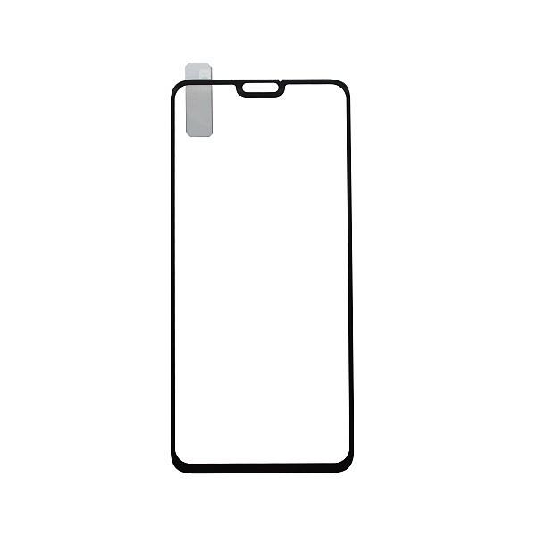 Tempered Glass Q sklo Honor 8X Black, Fullcover, 0.33 mm