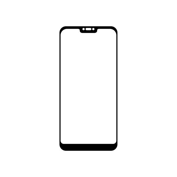 Tempered Protective Glass Q sklo Xiaomi Mi A2 Lite Black, Fullcover