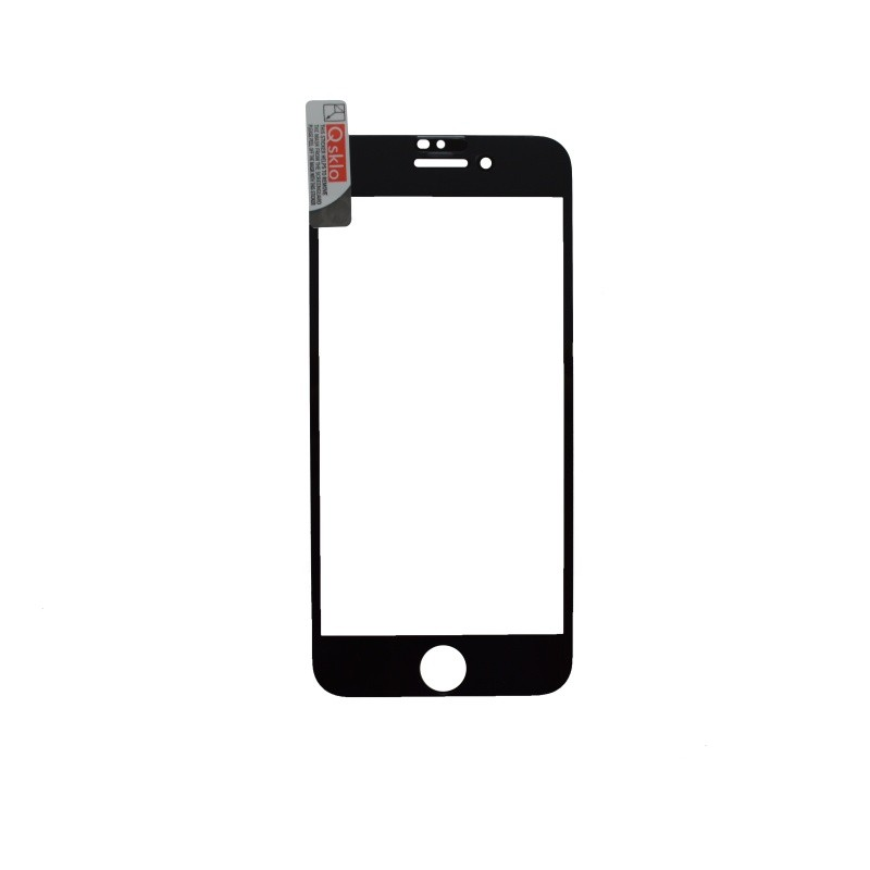 Tempered Glass iPhone 6 Black, Full Glue