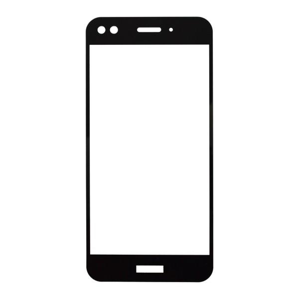 Tempered Glass Q sklo Huawei P9 Lite mini Black Fullcover