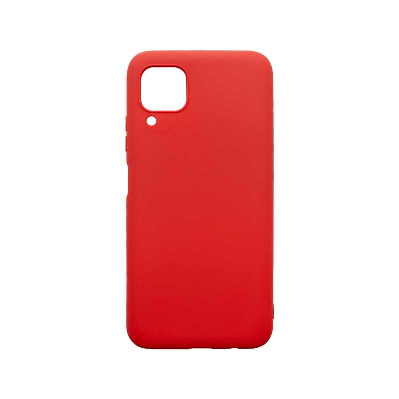 Huawei P40 Lite Silicon Cover Case, Red