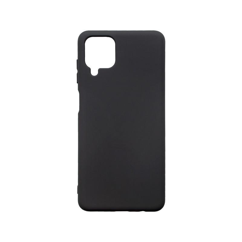 mobilNET Silicon Cover Case, Black, Samsung Galaxy A12