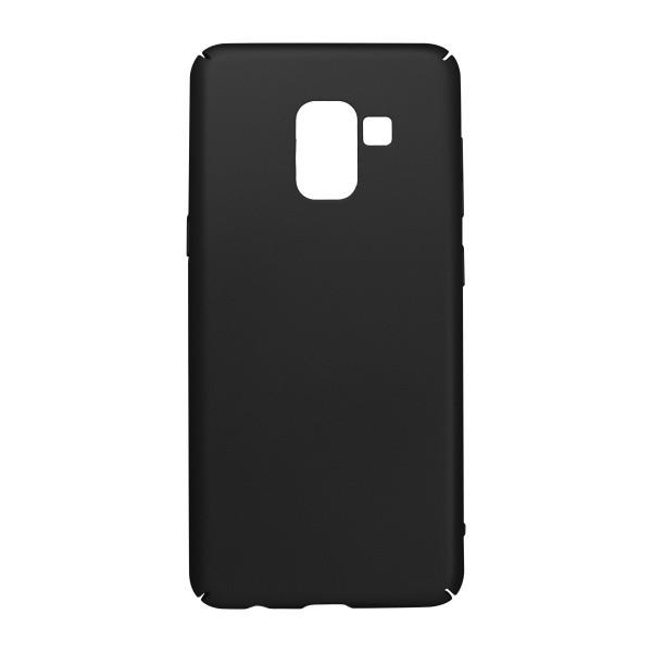 Plastic Cover Case Samsung Galaxy A8 2018 Black