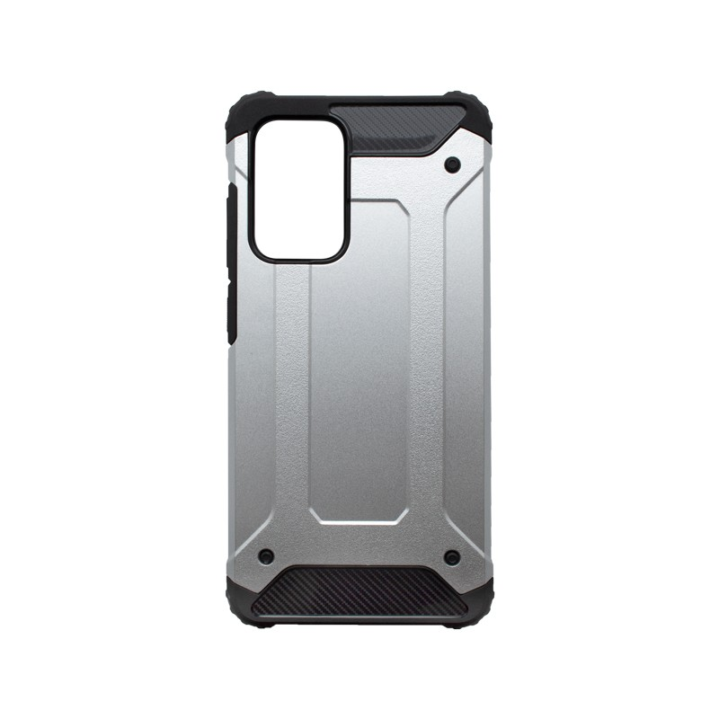Samsung Galaxy A52 Plastic Case, Silver Military
