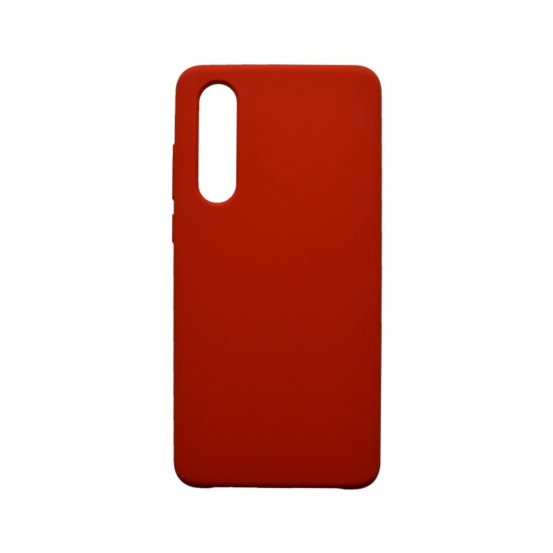 Cover Case Silicon Huawei P30 Red