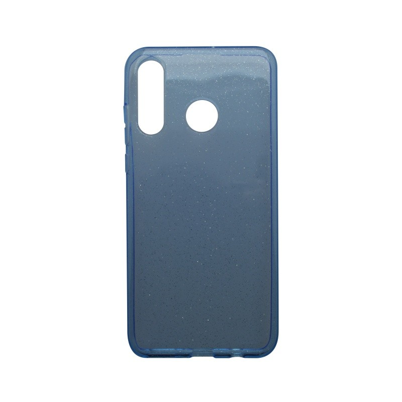 Silicone Cover Case Crystal Huawei P30 Lite Blue