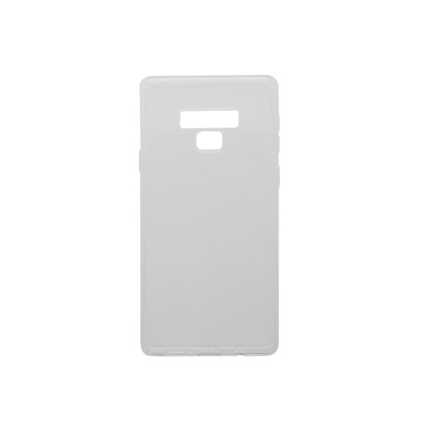 Silicone Cover Case Samsung Galaxy Note 9 Transparent
