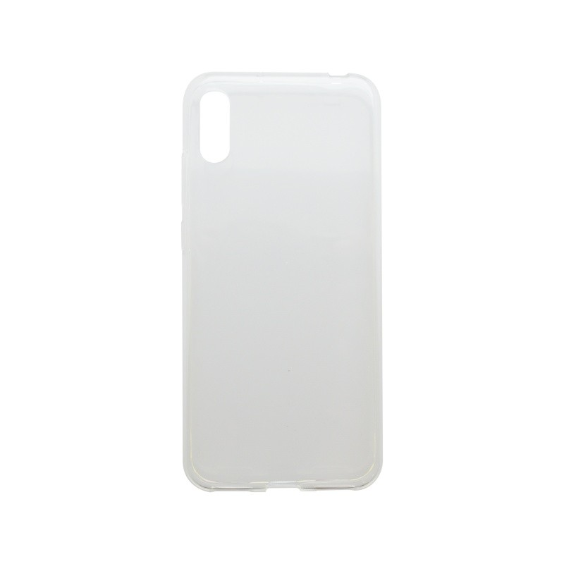 Silicon Non-Sticky Case Huawei Y6 2019 Transparent