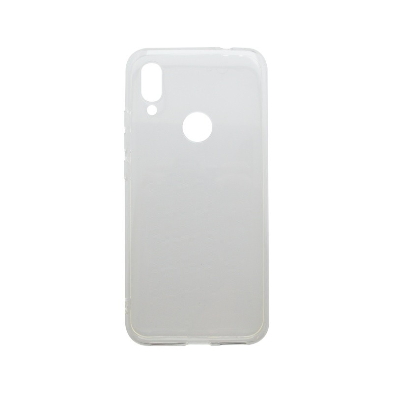 Silicon Non-Sticky Case Huawei Y7 2019 Transparent