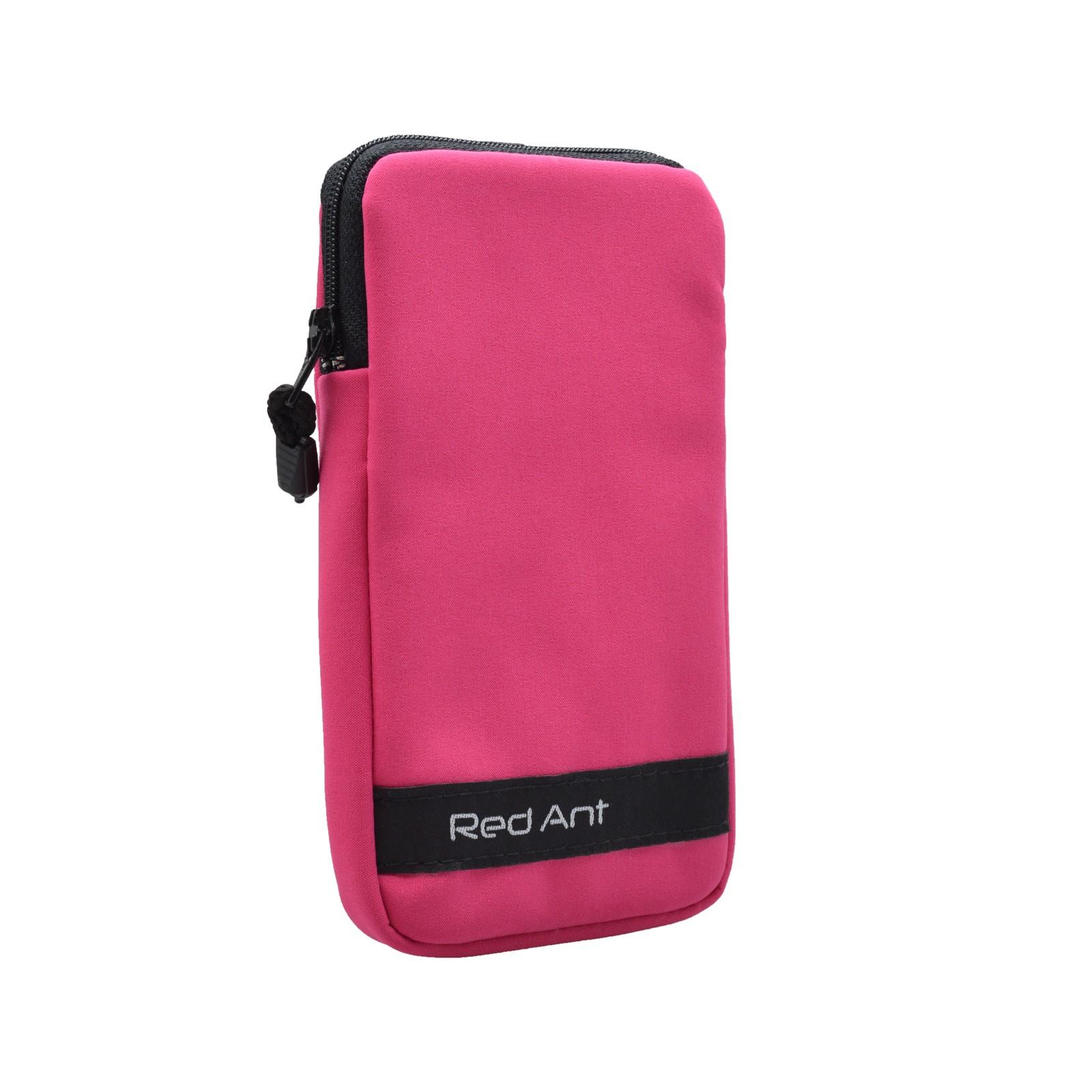 Vodeodolné softshellové puzdro neonové ružové