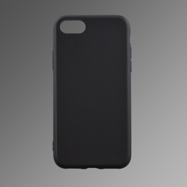 Silicone Cover Case iPhone X Black Matte