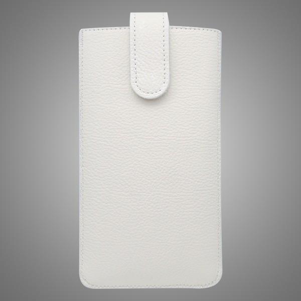 Genuine Leather Case, XL, White
