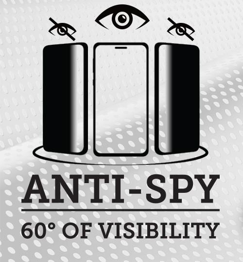 Ochranné sklo na telefón s funkciou Anti-Spy of visibility