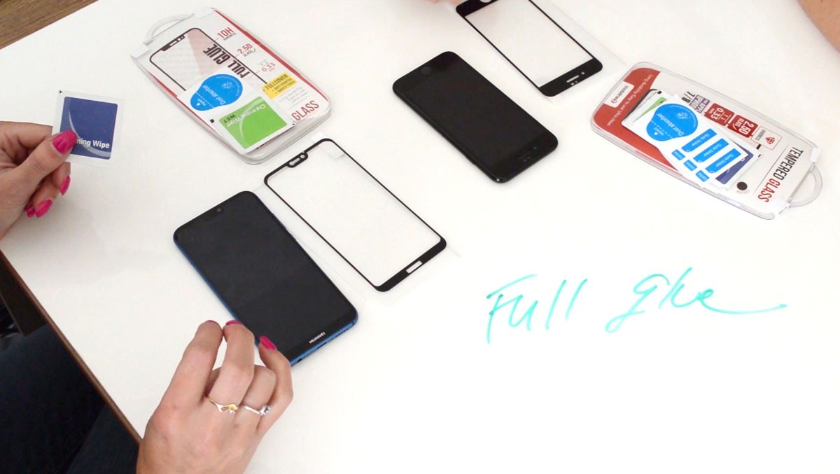 Ako nalepiť ochranné sklo na mobilný telefón - full glue verzia [VIDEO]