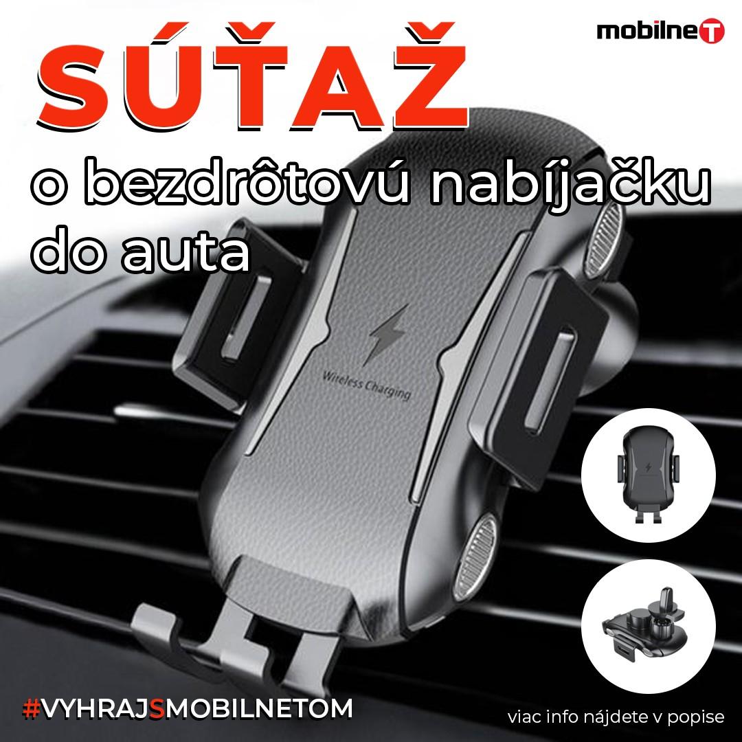 Súťaž o Bezdrôtovú nabíjačku do auta.