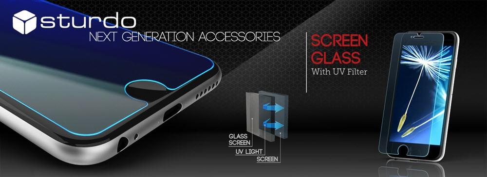 Sklenené fólie Sturdo Anti-Blue Light - ochrana pre telefón i používateľa