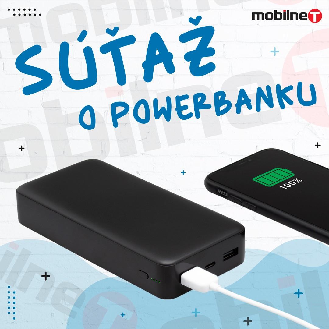 Súťaž o Powerbanku (20000mah)  Type - C