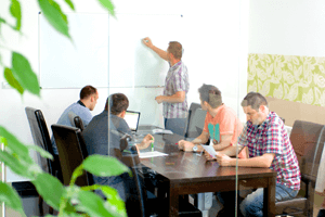 Team Mobilnet - zasadačka